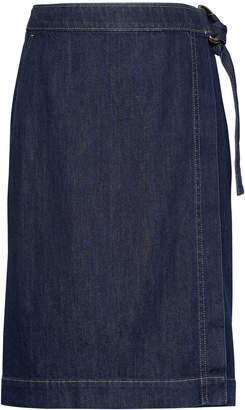 Banana Republic Denim Wrap Skirt