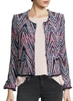 IRO Zigzag Tweed Jacket