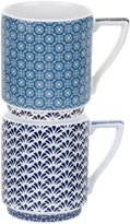 Ted Baker Casual Collection Stacking Mugs - Balfour III & IV - 2 pc
