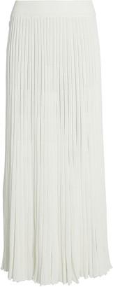 CHRISTOPHER ESBER Pleated Knit Button Skirt
