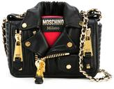 Moschino biker shoulder bag