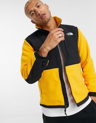 The North Face Denali 2 fleece jacket in yellow