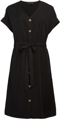 Saks Fifth Avenue Tie-Waist Shirtdress