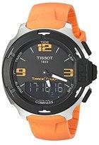 Tissot Men's T0814201705702 T-race Analog-Digital Display Swiss Quartz Orange Watch