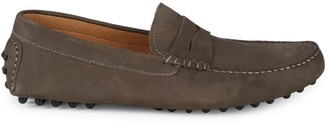Saks Fifth Avenue Suede Penny Slot Drivers