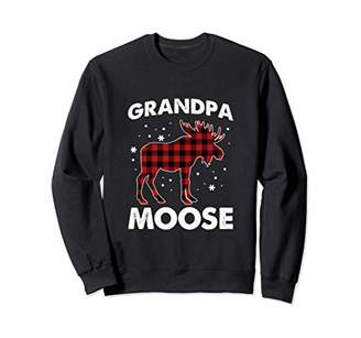 Buffalo David Bitton Grandpa Moose   Red Plaid Matching Family Pajama Sweatshirt