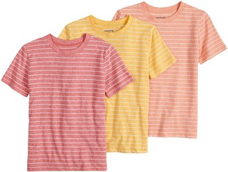 Boys 4-12 Jumping Beans 3 Pack Striped Tees