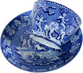 One Kings Lane Vintage Antique Pearlware Cup & Saucer, C. 1830