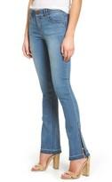 Petite Women's Wit & Wisdom Ab-Solution Split Release Hem Jeans