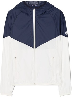 Tory Burch Chevron Nylon Packable Jacket