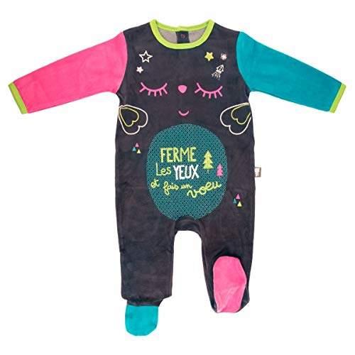 Camilla And Marc Baby Velour Pyjamas Wish - Size 12 Months (80 cm)