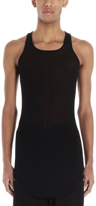 Rick Owens Ribbed Fitted Tank Top