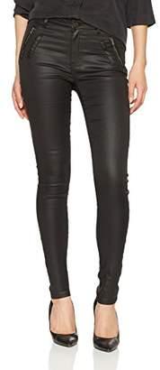 cache cache Women's's Milano-TAW Trousers Jet Black 1001, (Sizes: 34)
