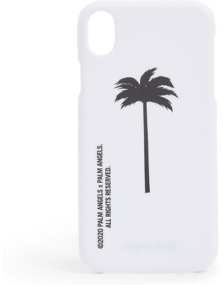 Palm Angels Palm tree-print silicone iPhone XR case