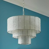 Graham and Green Manor Beaded Three Tier Chandelier