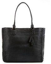 Cole Haan Dillan Tasseled Woven Tote