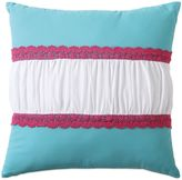 Bed Bath & Beyond Amanda Crochet Square Throw Pillow in Multi