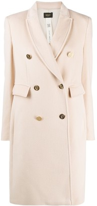 Liu Jo Fitted Double Breasted Coat