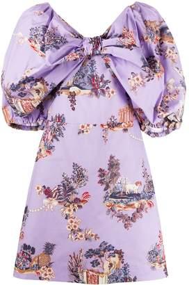 VIVETTA Bow Effect Dress