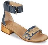 Latigo Tana Embroidered Leather Sandals
