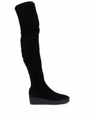 Clergerie Lorna thigh-high boots