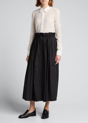 Rachel Comey Thyme Lace Button-Down Shirt