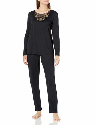 Hanro Women's Adina Long Sleeve Pajama Set