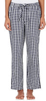 Sleepy Jones Women's Marina Gingham-Print Poplin Pajama Pants