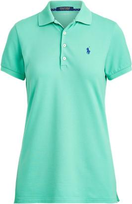 Ralph Lauren Tailored Fit Pique Golf Polo