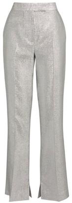 3.1 Phillip Lim Metallic Lame Trousers