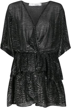 IRO wrap style dress