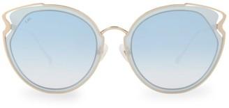 For Art's Sake Artist 57MM Cat Eye Sunglasses