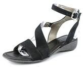 The Flexx Gladding Women Open Toe Leather Black Sandals.