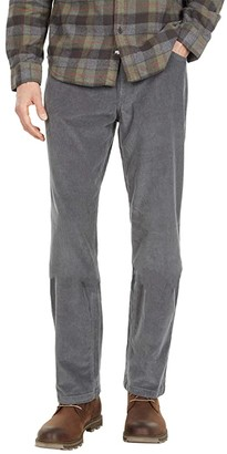 Mountain Khakis Crest Cord Pants Relaxed Fit (Gunmetal) Men's Clothing