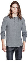 G by Guess GByGUESS Men's Dias Long-Sleeve Henley