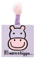 Jellycat Toddler 'If I Were A Hippo' Board Book