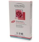 Logona Kosmetik Relaxation MaskOrganic Rose & Aloe