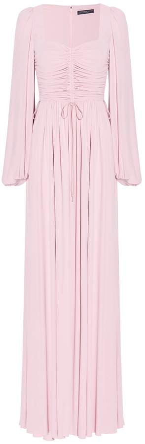 Alexander McQueen Long Sleeves Gathered Gown