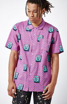 Obey Brick Short Sleeve Button Up Shirt