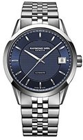 Raymond Weil Men's 'Freelancer' Swiss Automatic and Stainless Steel Casual Watch, Color:Silver-Toned (Model: 2740-ST-50021)