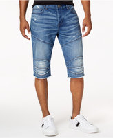 True Religion Men's Rocco Moto Stretch Shorts