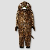 Toddler Girls' Leopard Union Suit Pajamas