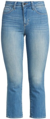 L'Agence Nadia Straight Cropped Jeans
