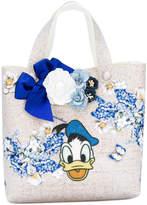 MonnaLisa floral donald duck bag
