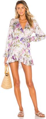 Beach Riot x V. Chapman Lotus Wrap Dress