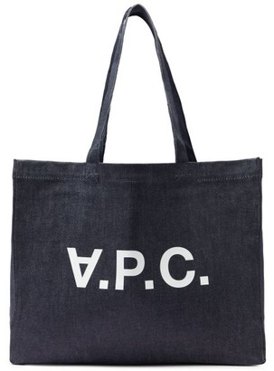 A.P.C. Daniela Denim Tote Bag - Denim