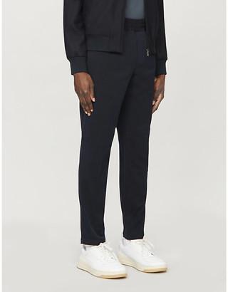 Samsoe & Samsoe Smithy slim-fit tapered twill trousers