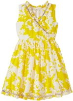 Cupcakes & Pastries Cupcakes & Pasteries Wrap Dress (Toddler/Kid) - Yellow/White - 7