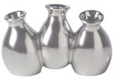 Torre & Tagus Mini Carafe Three-Bud Ceramic Vase