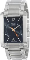 ESQ by Movado ESQ Movado Men's 07301405 esq Synthesis tm Rectangular Stainless Steel Watch